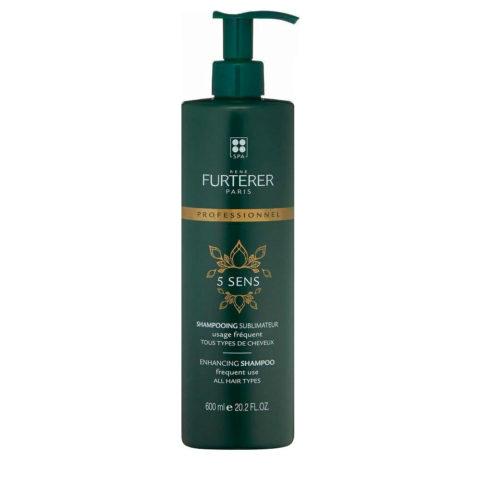René Furterer 5 Sens Enhancing Shampoo 600ml - pour tous les types de cheveux