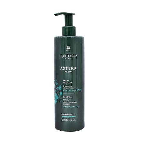 René Furterer Astera Fresh Shampooing Apaisant Fraicheur 600ml - Cuir Chevelu Irrité