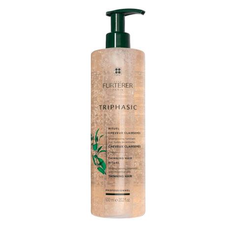 René Furterer Triphasic shampoo 600ml - Shampooing stimulant