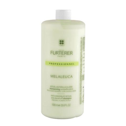René Furterer Melaleuca Shampooing Antipelliculaire 1000ml - Pellicules Grasses