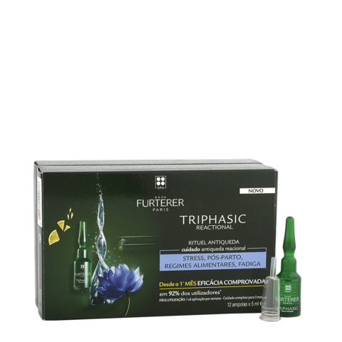 René Furterer Triphasic Reactional Anti-Hair Loss Treatment 12x5ml
