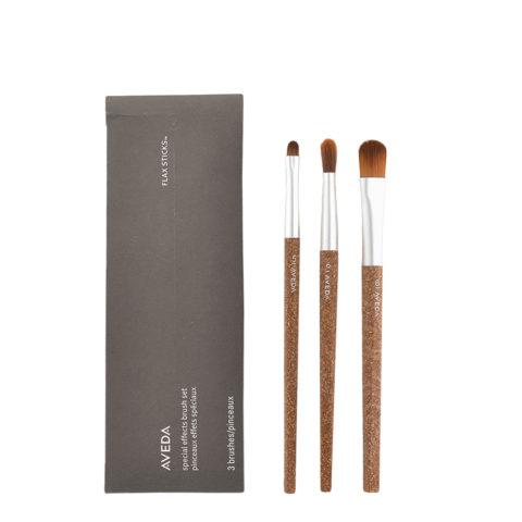 Aveda Flax Sticks Pinceaux Effets Spéciaux Set n 5 Ombreur Yeux n 6 Contour des Yeux n 8 Teint