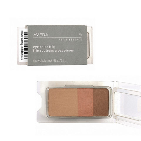 Aveda Petal Essence Eye Color Trio 972 Copper Haze 2.5gr