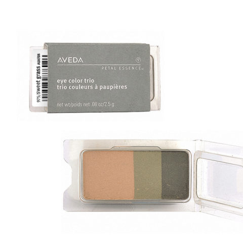 Aveda Petal Essence Eye Color Trio 975 Sweet Grass 2.5gr