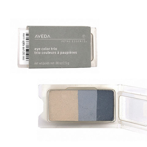 Aveda Petal Essence Eye Color Trio 998 Azure Rain 2.5gr