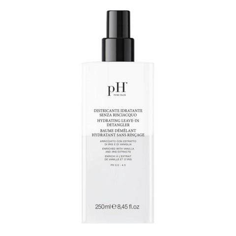 Ph Laboratories Hydrating Leave In Detangler 250ml - spray hydratant