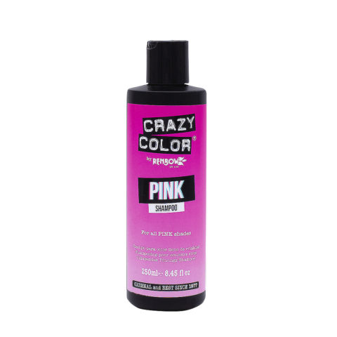 Crazy Color Shampoo Pink 250ml - Shampooing pour cheveux roses