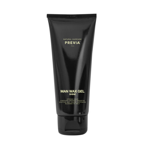 Previa Man Wax Gel Shine 200ml - fort tenue