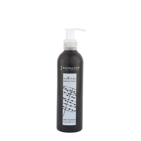 Jean Paul Myne Navitas Organic Touch shampoo Grey Pepper 250ml - Shampooing Colorant