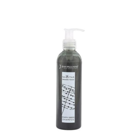 Jean Paul Myne Navitas Organic Touch shampoo Poppy Seeds 250ml - Shampooing Colorant