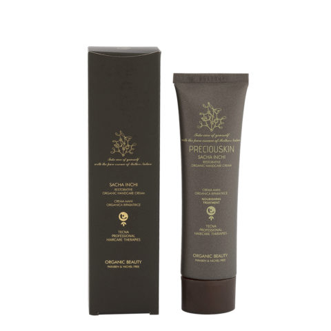 Tecna Preciouskin Sacha Inchi Restorative Organic Handcare Cream 100ml
