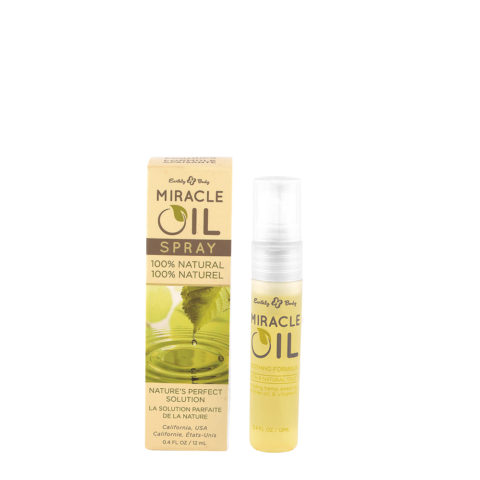 Earthly Body Miracle Oil spray 12ml - 100% naturel huile miraculeuse