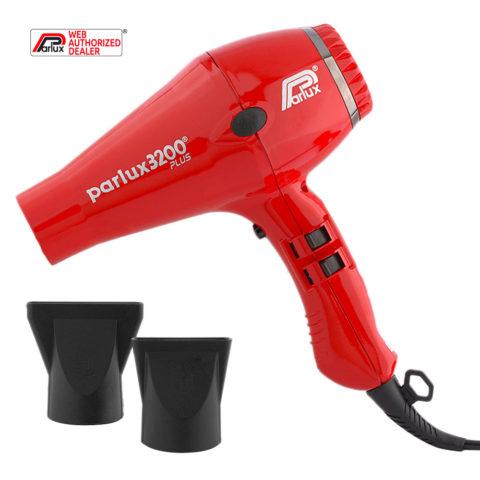 Parlux 3200 Plus - Sèche Cheveux Rouge
