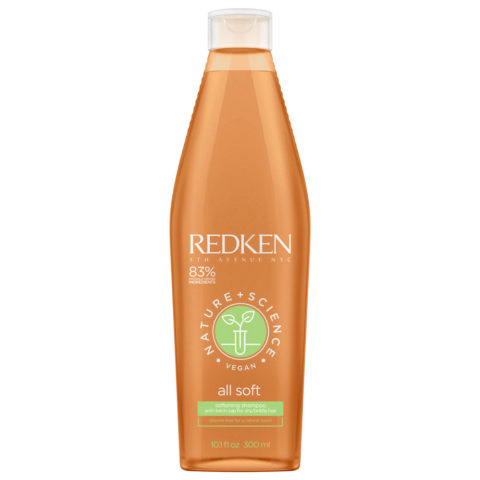 Redken Nature + Science All Soft Softening Shampoo 300ml - Shampooing Hydratant