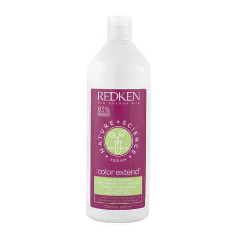 Redken Nature + Science Color Extend Shampoo 1000ml - Shampooing cheveux colorés
