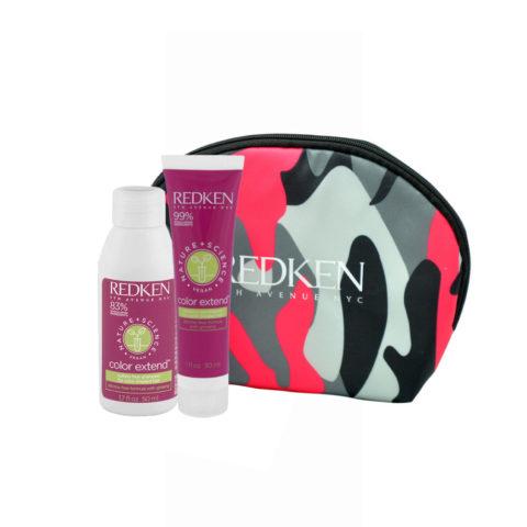 Redken Nature + Science Color Extend Shampoo 50ml Conditioner 30ml pochette cadeau