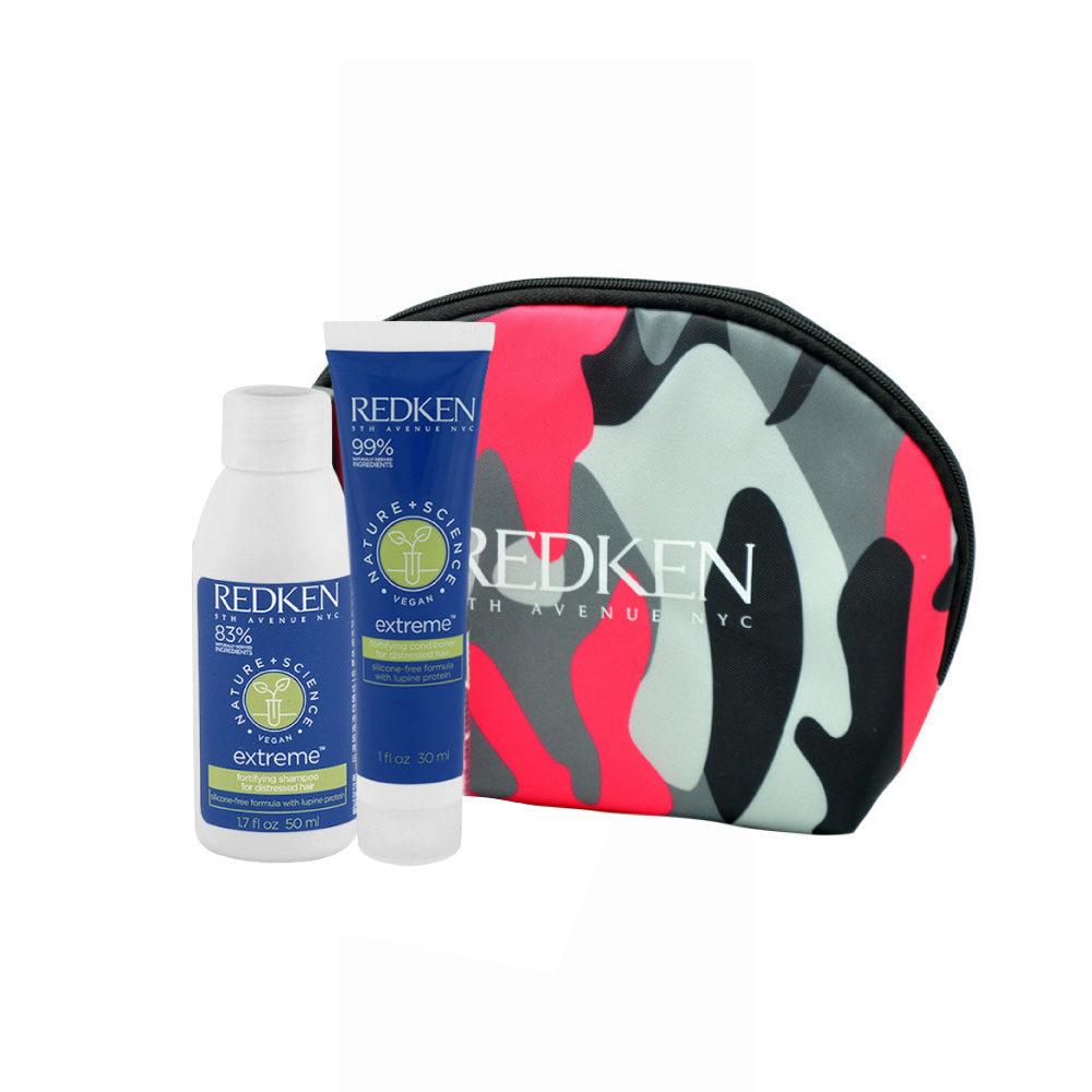 Redken Nature + Science Extreme Shampoo 50ml Conditioner 30ml pochette cadeau