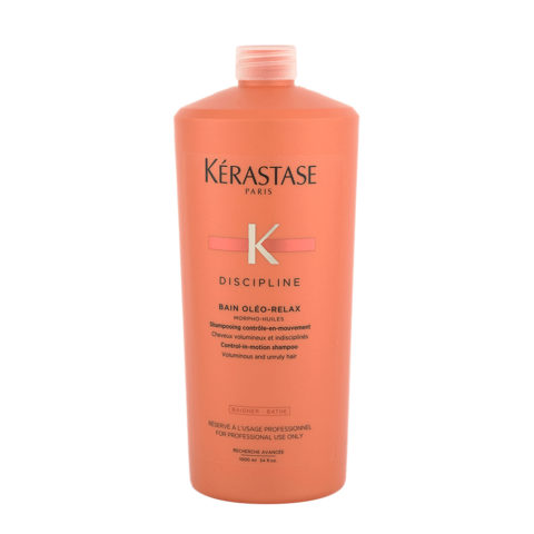 Kerastase Discipline Bain Oleo-Relax 1000ml - shampooing anti - frisottis pour cheveux secs