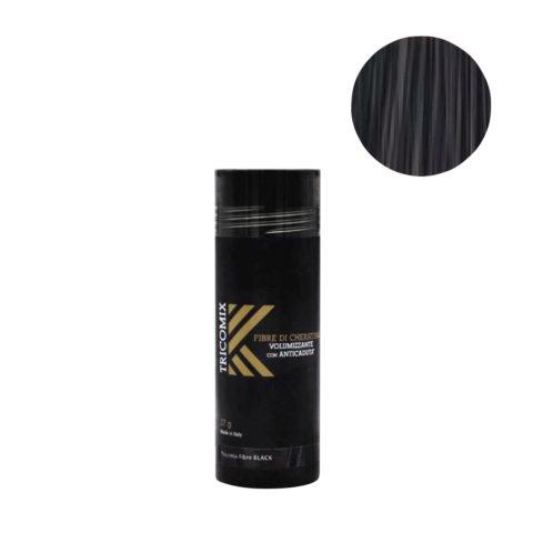 Tricomix Fibre Black 27gr - Fibres De Kératine Avec Effet Volumateur Et Antichute Noir