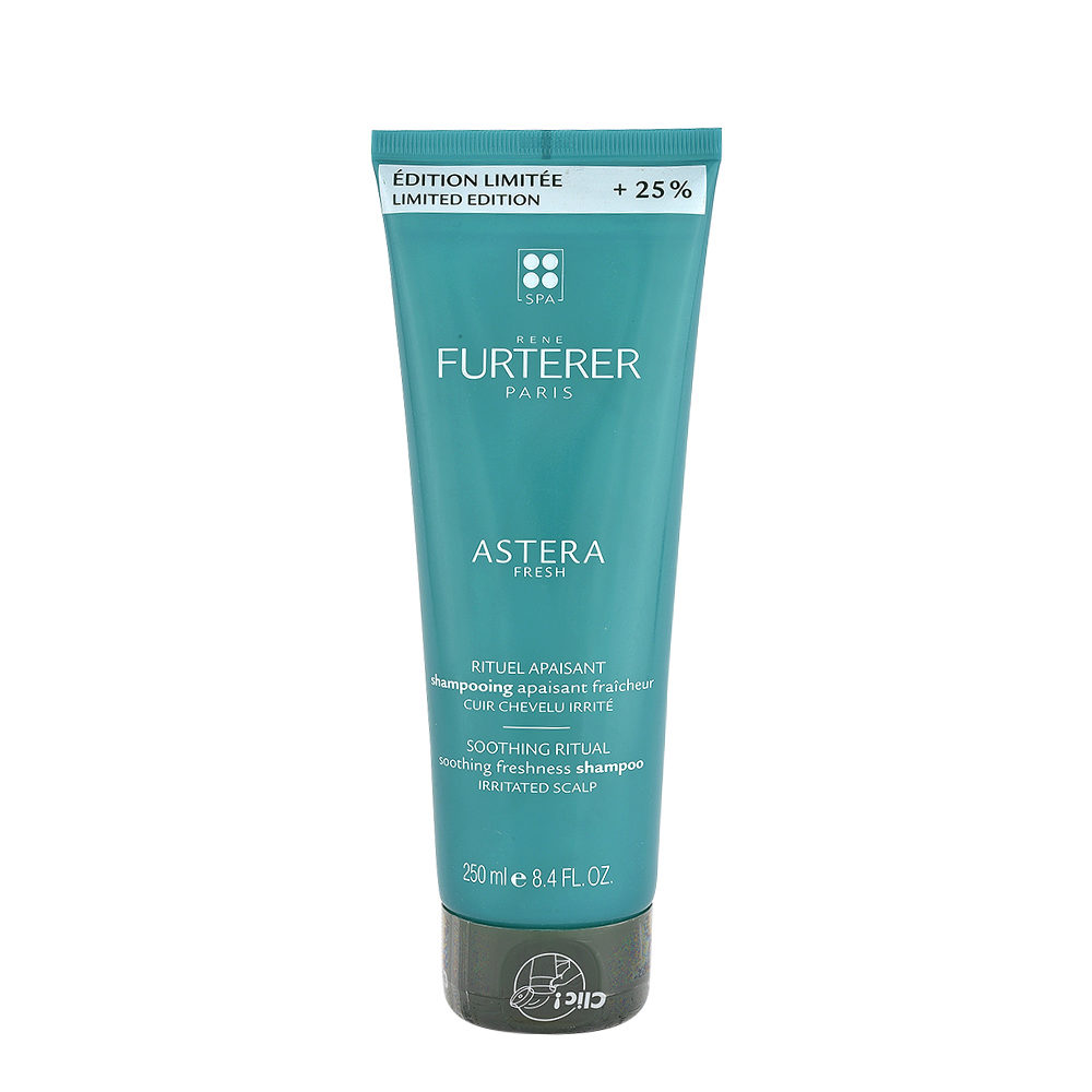 René Furterer Astera Fresh Shampooing Apaisant Fraicheur 250ml - Cuir Chevelu Irrité - Édition Limitée