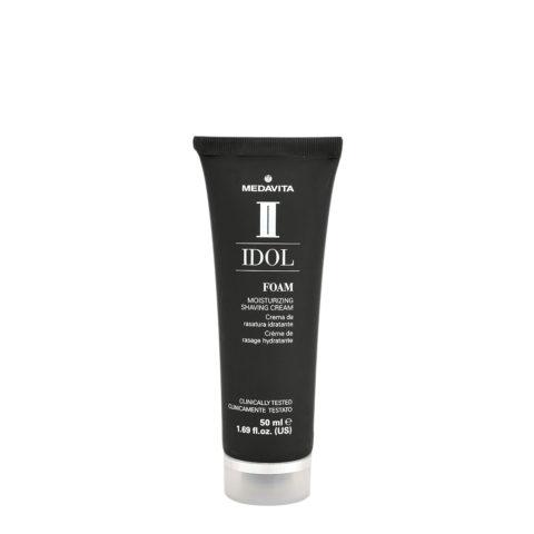 Medavita Idol Styling Man Foam Moisturizing Shaving Cream 50ml - crème à raser hydratante
