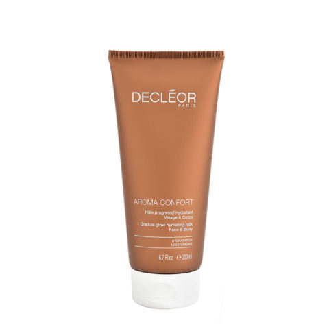 Decléor Aroma Confort Hâle Progressif Hydratant 200ml - lait corporel bronzant progressif