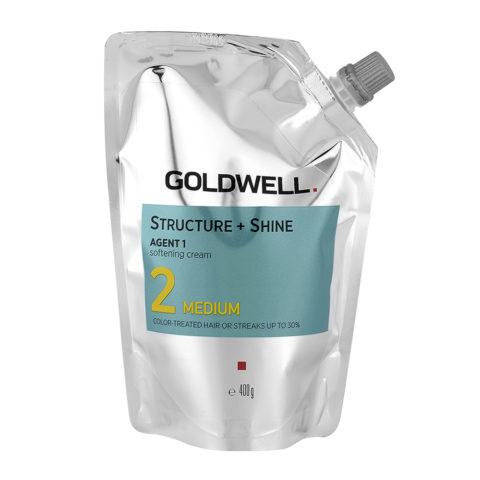Goldwell Structure + Shine Agent 1 Softening Cream 2 Medium 400gr