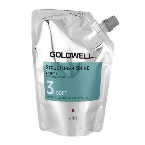 Goldwell Structure + Shine Agent 1 Softening Cream 3 Soft 400gr