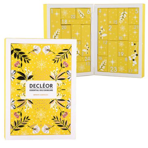 Decléor Essential Oils Skincare Infinite Surprises  calendier de l'avent 24 cadeaux surprises