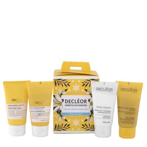 Decléor Essential Oils Skincare Infinite Body Hydration Neroli Bigarade - Kit 4 Produits Corps