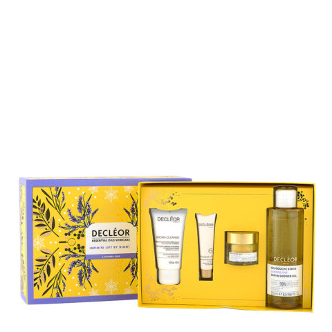 Decléor Essential Oils Skincare Infinite Lift By Night Lavender Fine - Kit 4 Produits