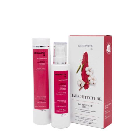Medavita Rituale Hairchitecture Pour Donner Volume Aux Cheveux Fins