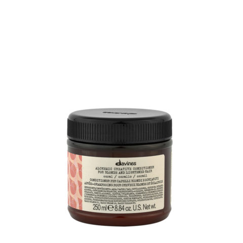 Davines Alchemic Creative Conditioner Coral 250ml - Baume De Couleur Corail