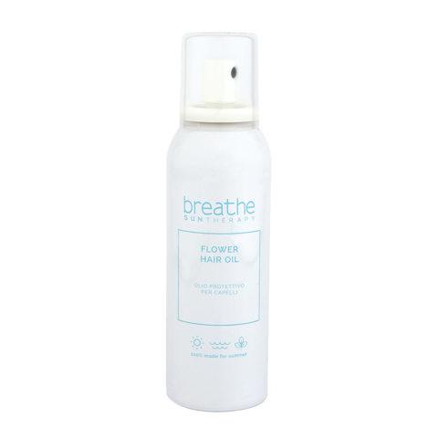 Naturalmente Breathe Sun Flower Hair Oil 150ml - Huile Protectrice Pour Cheveux