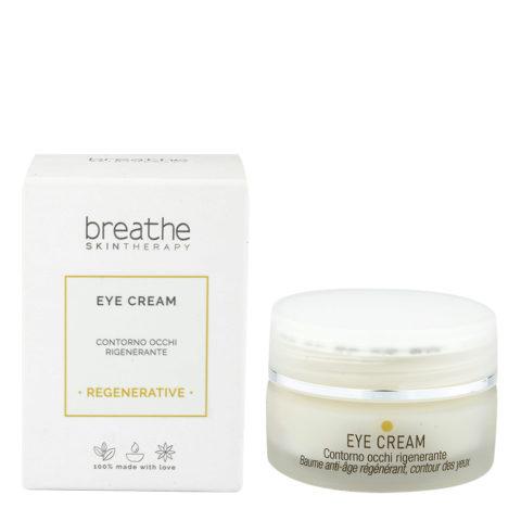 Naturalmente Breathe Eye Cream 15ml - Contour Yeux régénérant Anti - Rides