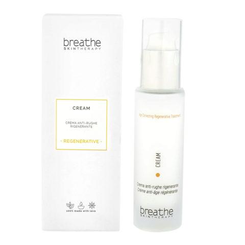 Naturalmente Breathe Regenerative Treatment Cream 50ml - Crème Régénérante Anti - rides