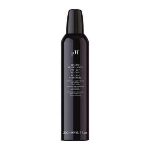 PH Laboratoires Mousse Modellante tenuta media 300ml - mousse coiffante anti frisottis