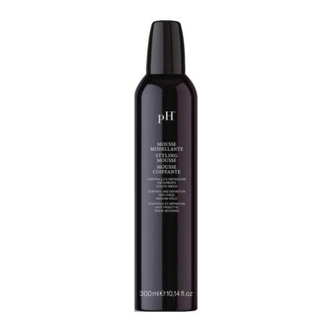 PH Laboratoires Mousse Modellante tenuta media 300ml - mousse coiffante anti frisottis
