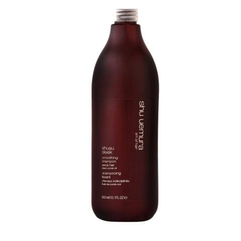 Shu Uemura Shusu Sleek Shampoo 980ml - shampooing lissage