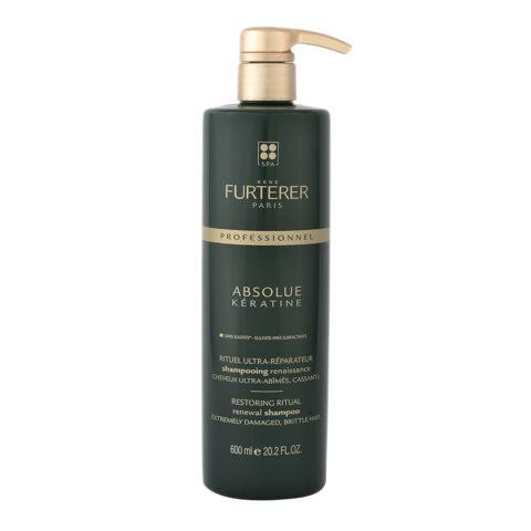René Furterer Absolue Keratine Renewal Shampoo 600ml - Shampooing Renaissance
