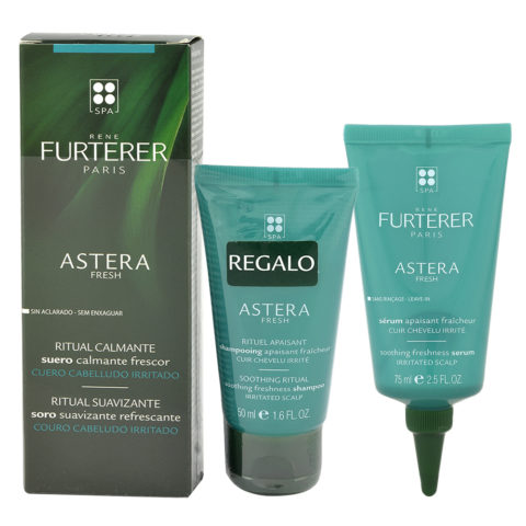 René Furterer Astera Fresh Soothing Freshness Serum 75ml + Shampoo 50ml