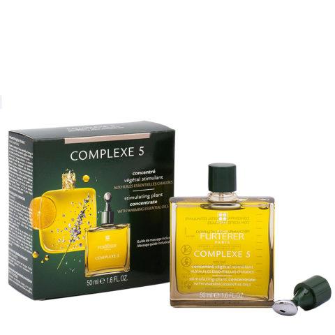 René Furterer Complexe 5 Serum Concentre Vegetal Stimulant 50ml