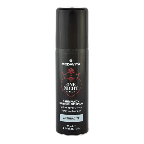 Medavita 24h Fancy Hair Color Spray Anthracite 75ml - couleur spray anthracite