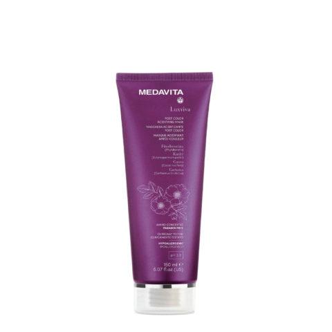 Medavita Luxviva Post Color Mask 150ml - masque pour cheveux colores