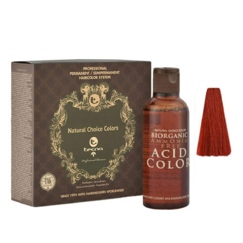 7.66 Blond moyen rouge profond Tecna NCC Biorganic acid color 3x130ml