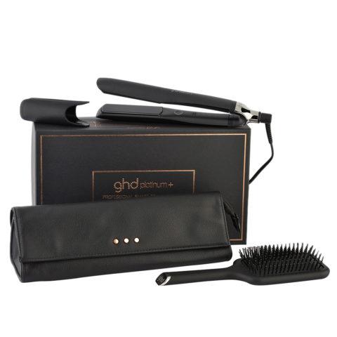 GHD Platinum + Professional Smart Styler Gift Set - Lisseur Avec Pochette Et Brosse Plate