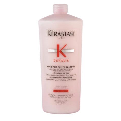 Kerastase Genesis Fondant Renforçateur 1000ml - Conditioner Pour Cheveux Faibles