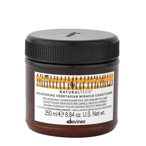 Davines Naturaltech Nourishing Vegetarian Miracle Conditioner 250ml - Masque restructurant
