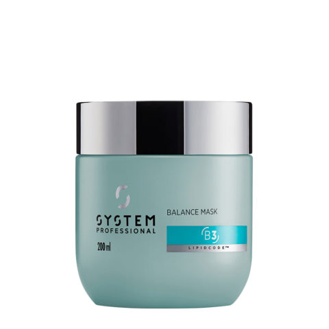 System Professional Balance Mask B3, 200ml - Masque Peau Sensible