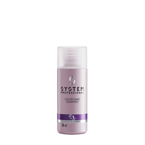 System Professional Color Save Shampoo C1, 50ml - Shampooing Cheveux colorés